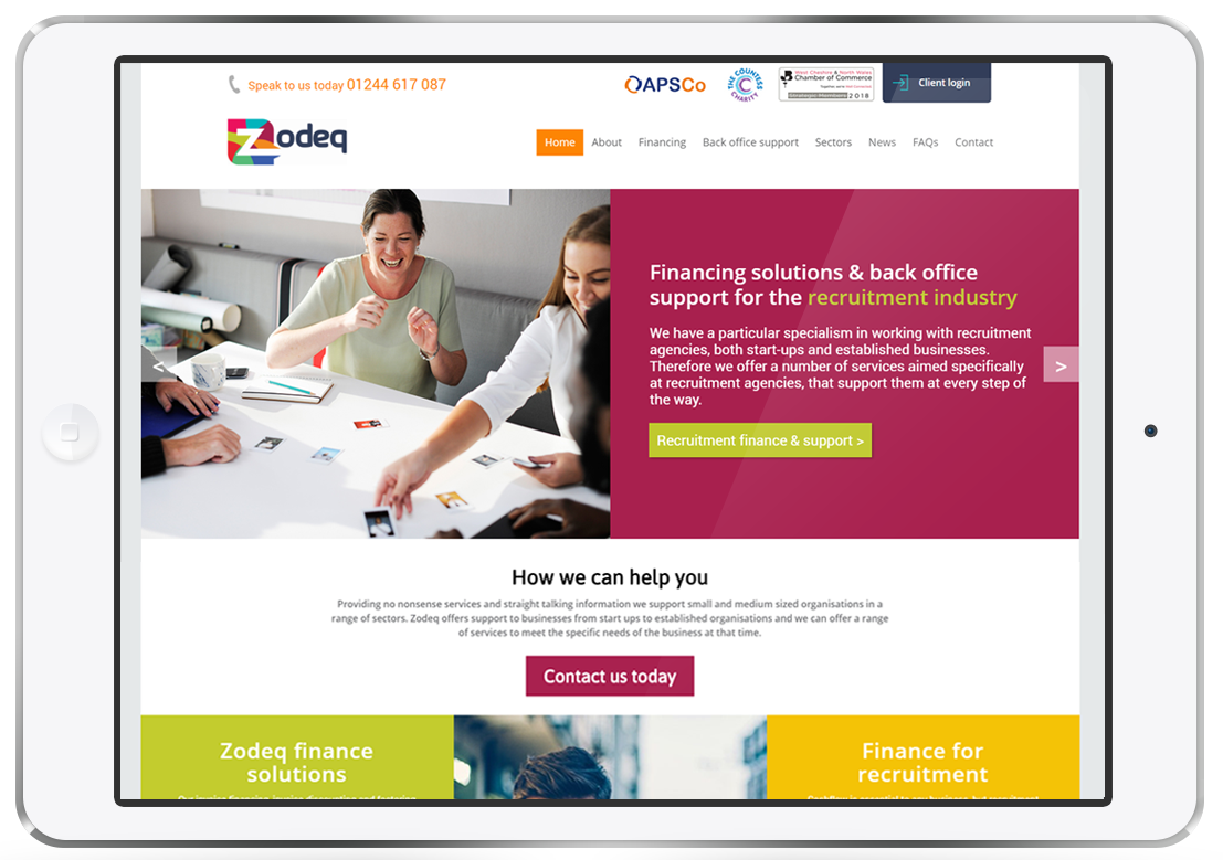 responsive website build