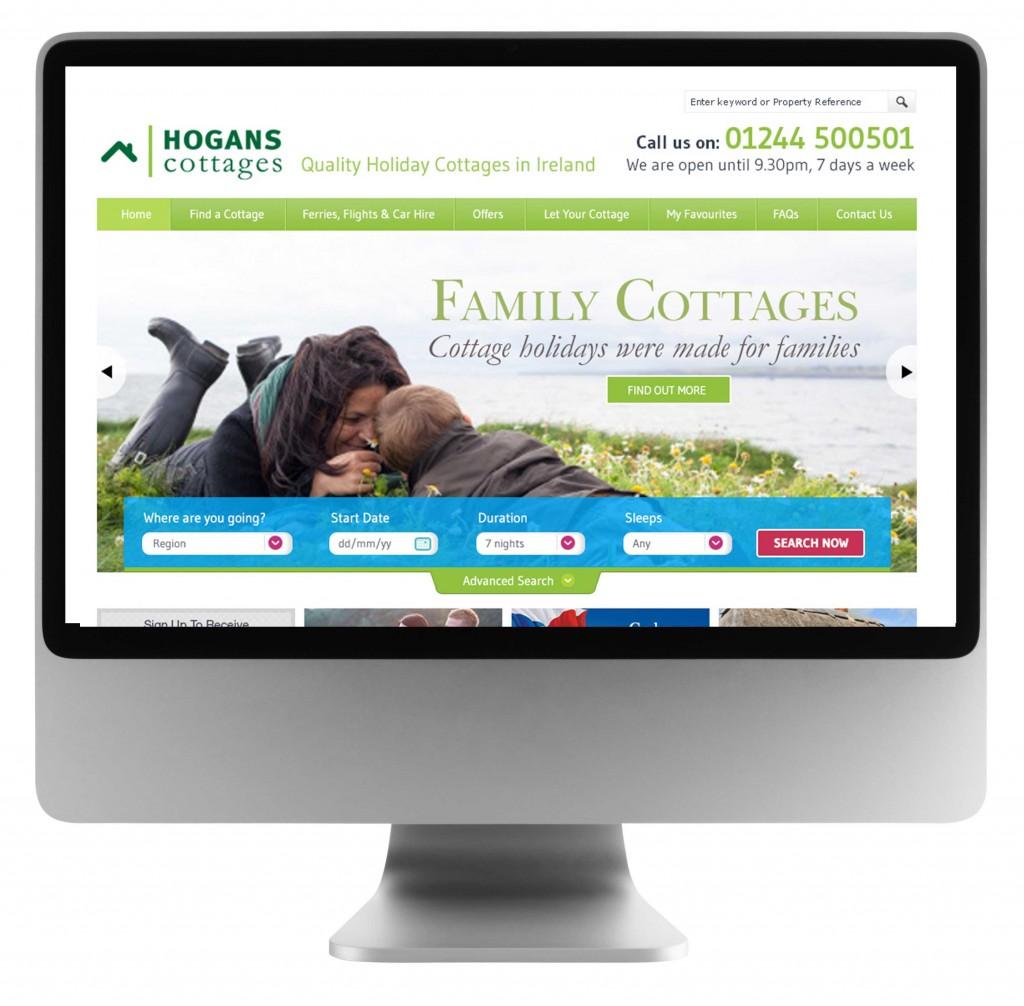 cottage holiday website