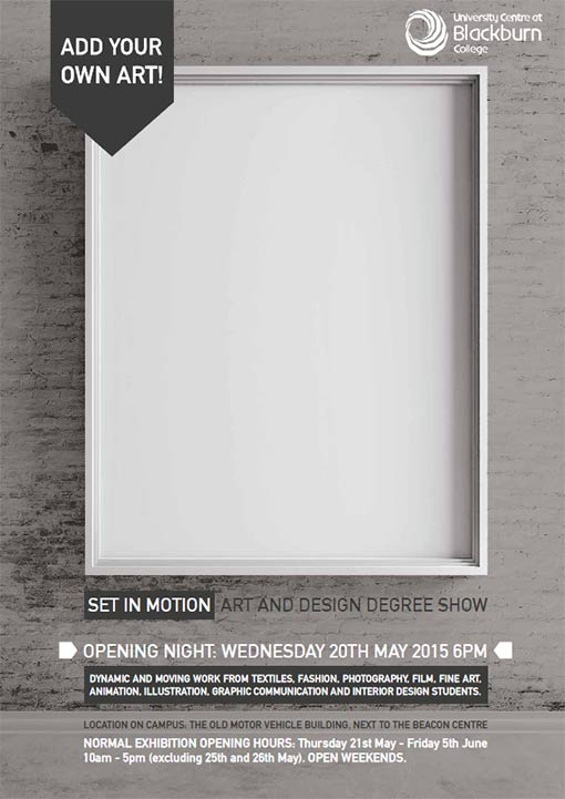 Graphic-design-degree-show-poster