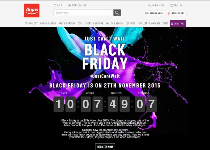 Argos-website-black-friday