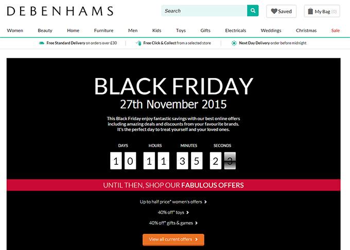 Debenhams-website-black-friday