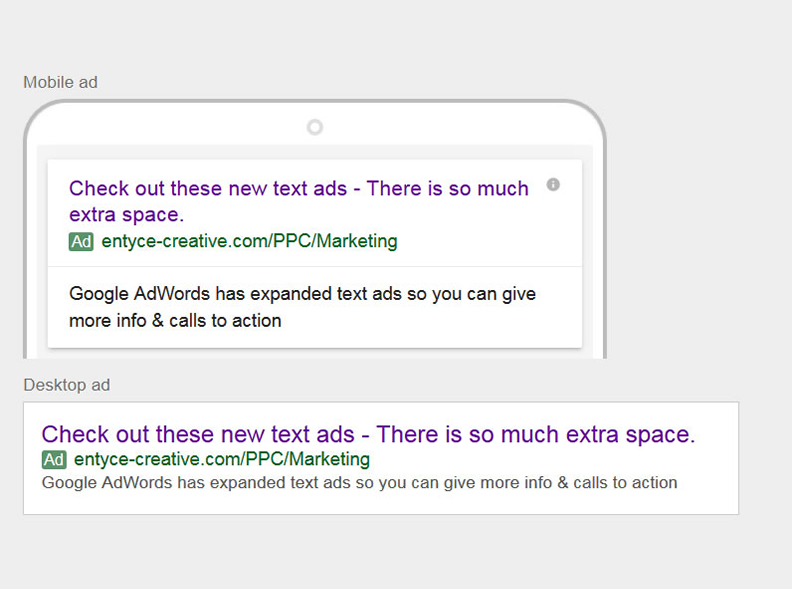 Adwords Expanded Text Ads Live Ppc Marketing Chester