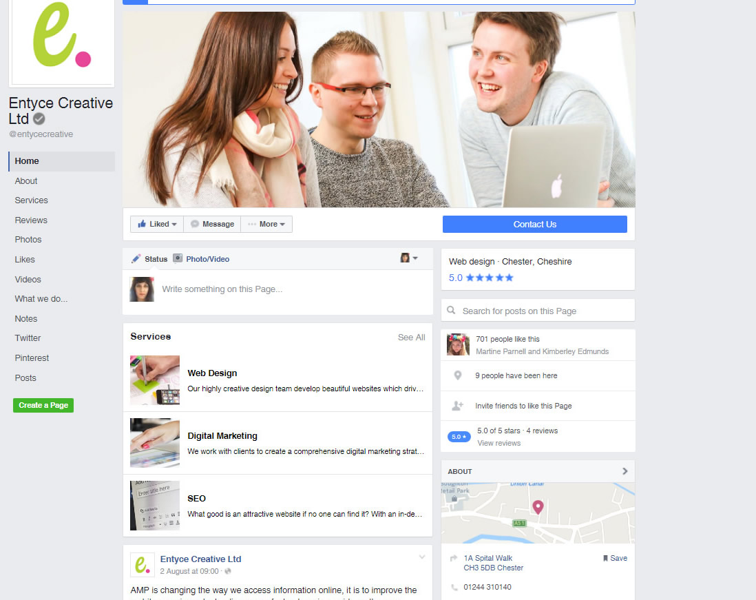 Facebook new layout