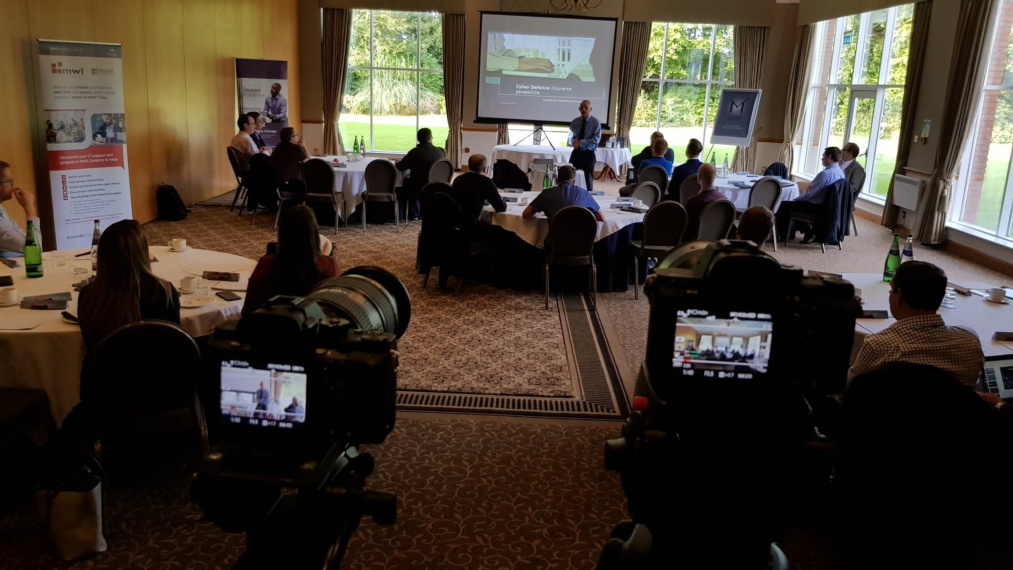 The Entyce team attends MWL Systems' biggest tech workshop to date