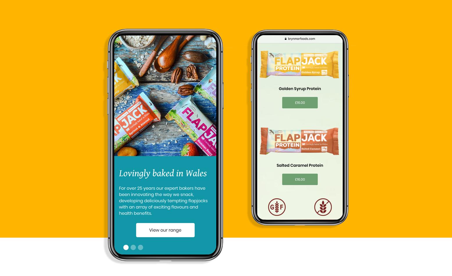 Brynmor mobile website