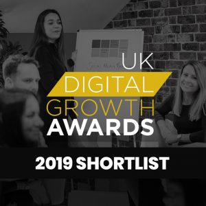 Entyce makes the shortlist for the UK Digital Growth Awards 2019