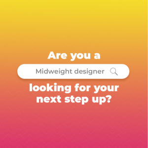 Are you our new designer? We're hiring!