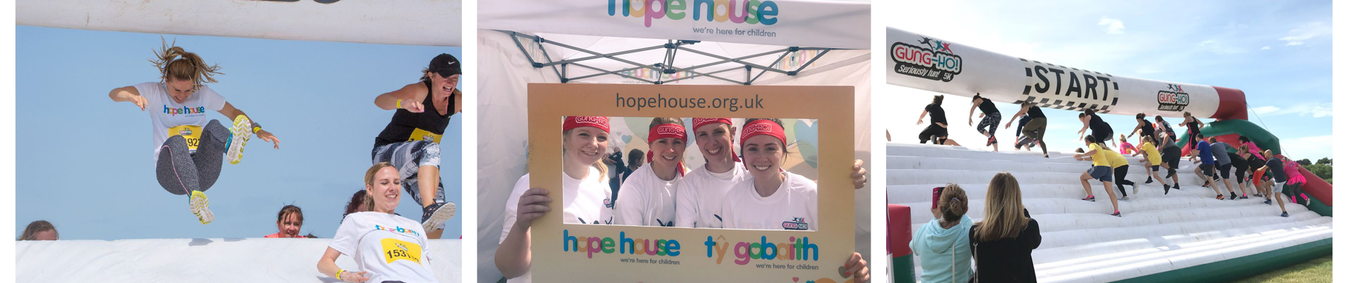 Team Entyce tackles Gung-Ho for Hope House
