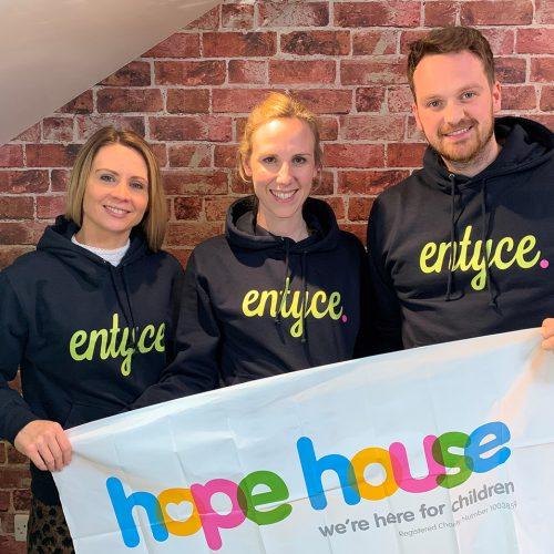 Entyce team completes the Chester Half Marathon