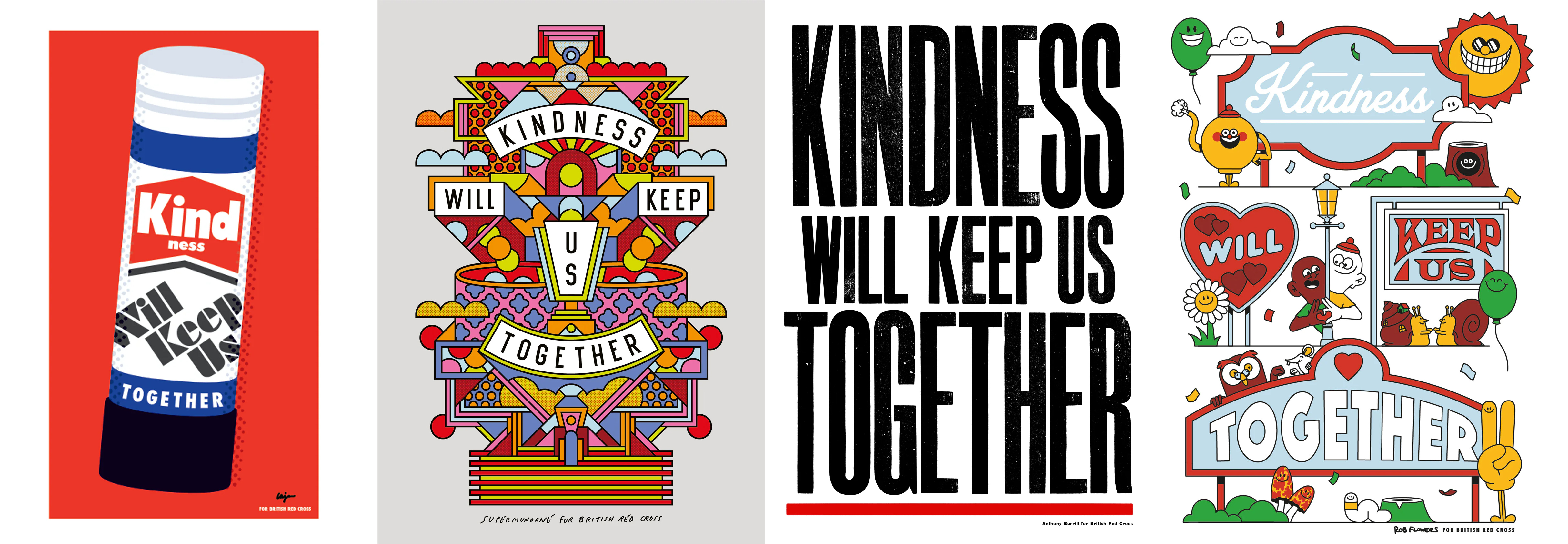 """British Red Cross """"Kindness will keep us together"""""""