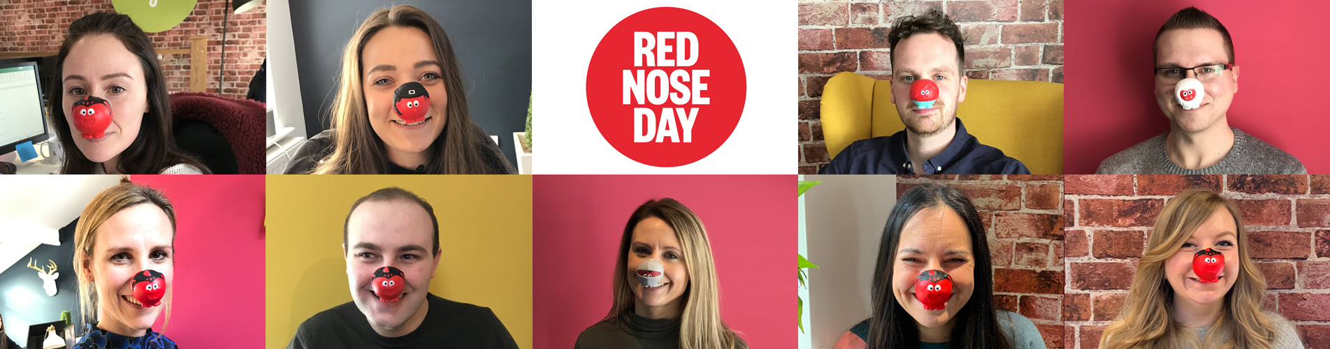 Red nose day at Entyce