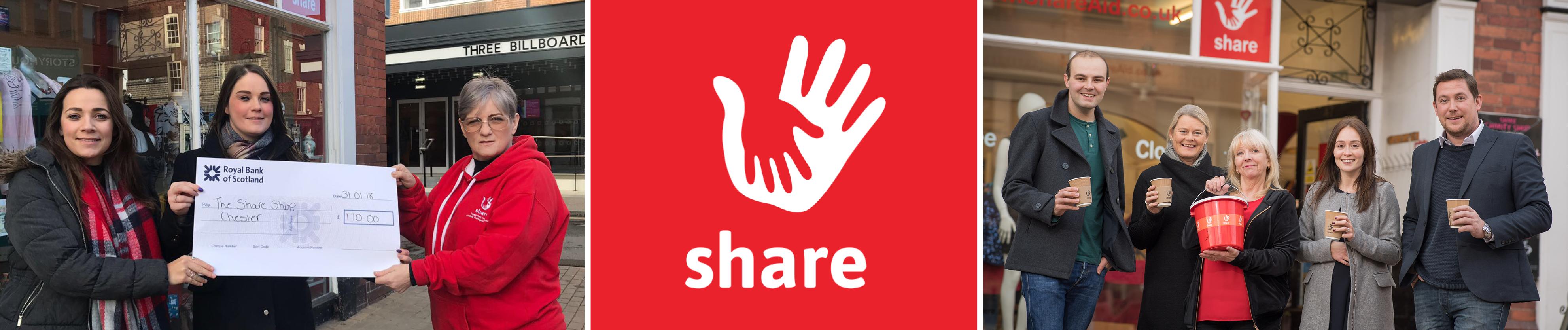 Entyce raise money for Share