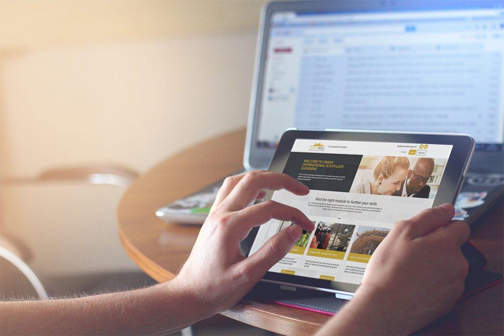 Simian-International-eLearning-website