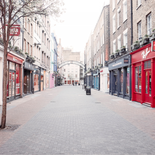 Is the high street over?